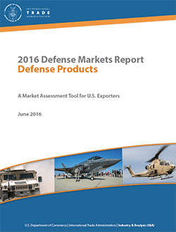 click to download the Defense Products Report